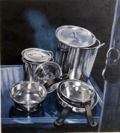 Still life with Pans